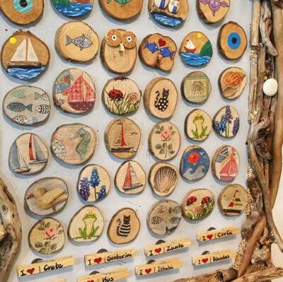 Wood Fridge Magnets